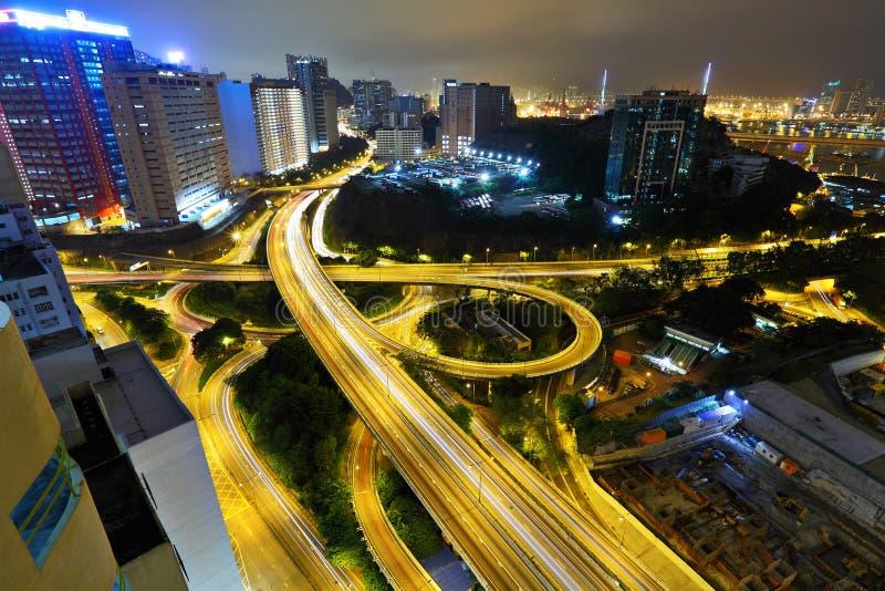 Weg in Hongkong royalty-vrije stock afbeeldingen