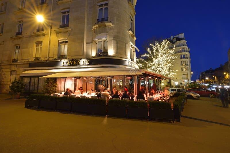 Weg Montaigne in Parijs stock afbeeldingen