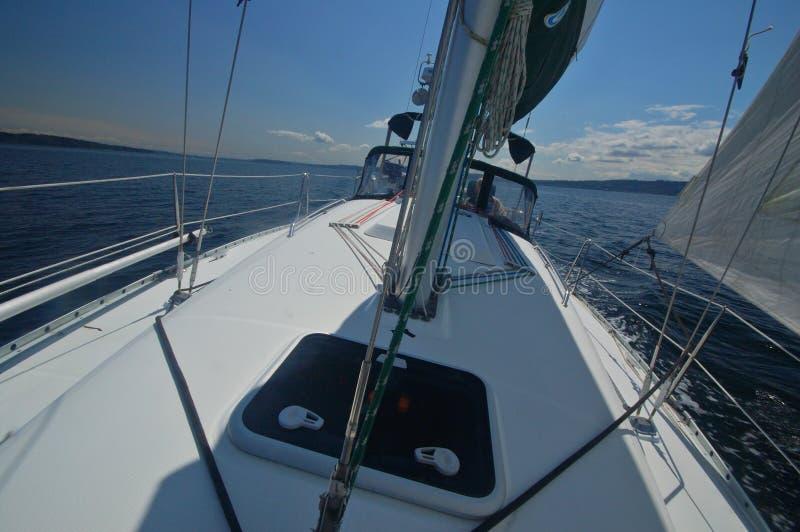 Weg segeln lizenzfreies stockbild