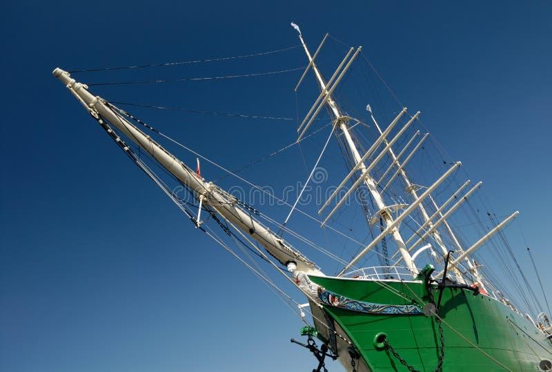 Weg segeln? stockfotos