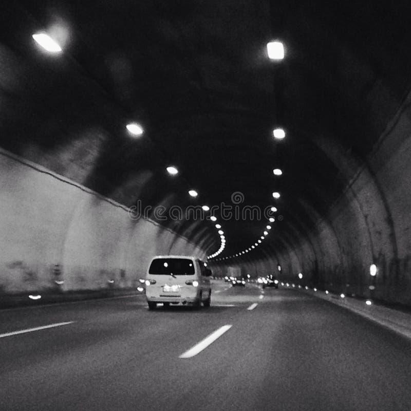 Weg in Tunnel royalty-vrije stock foto's