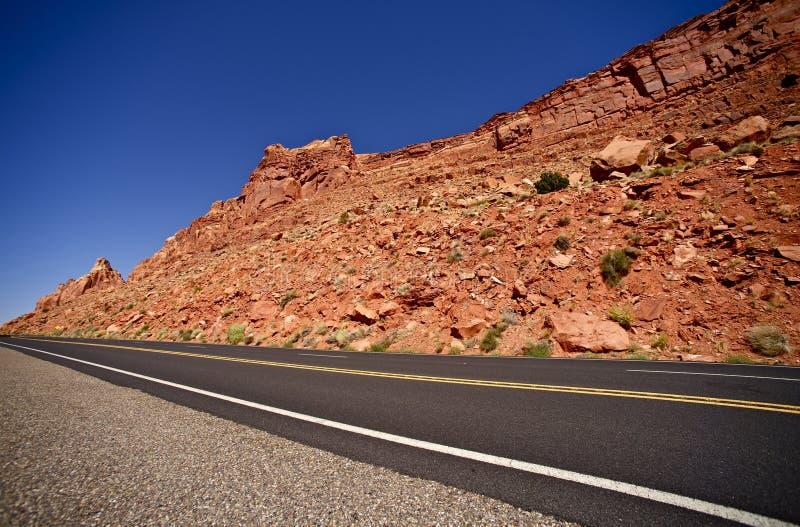 Weg 89 van Arizona stock afbeelding