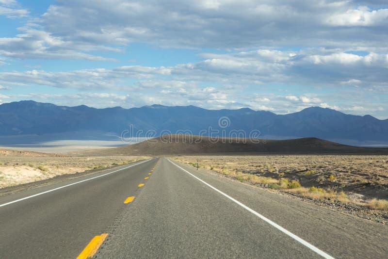 Weg 50 van Nevada royalty-vrije stock foto's