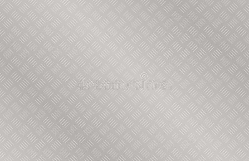 Weg-Weisenstahldiamant-Plattenbeschaffenheit stock abbildung