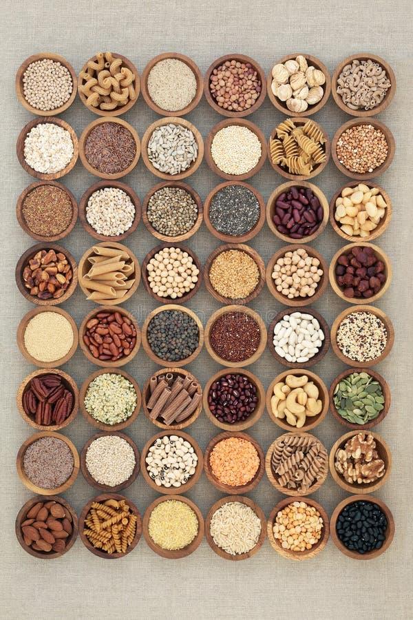 Weganinów zdrowie Naturalny jedzenie obrazy royalty free