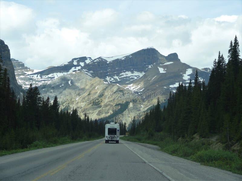 Wegen van Banff royalty-vrije stock afbeelding