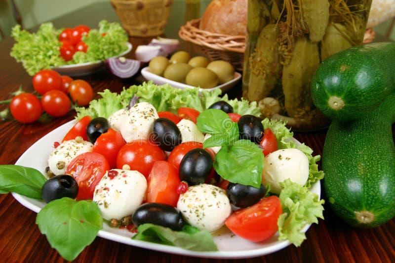 wegetarianin restauracji zdjęcie stock