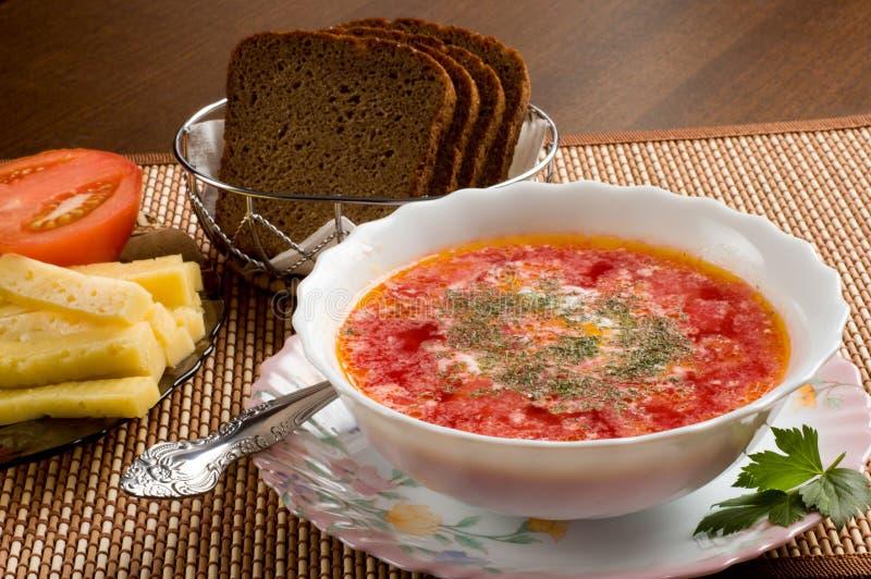 wegetarianin zupy zdjęcie royalty free