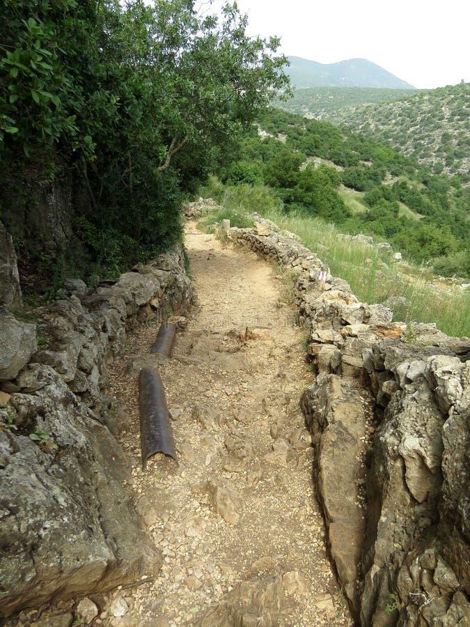 Wegion der Hügel stockfotografie