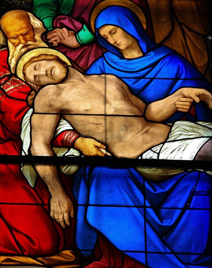 Wehklage von Christ stockfotos