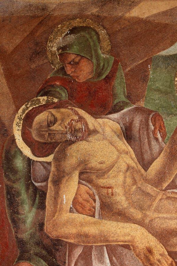 Wehklage von Christ stockfoto