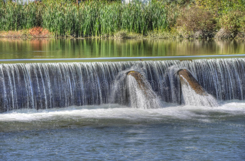 Download Wehr's Dam stock photo. Image of stream, landscape, high - 16787740