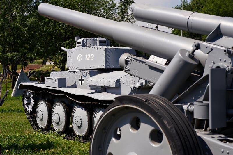 wehrmacht för behållare för praque t för ckd för 38 armé ljus arkivfoto