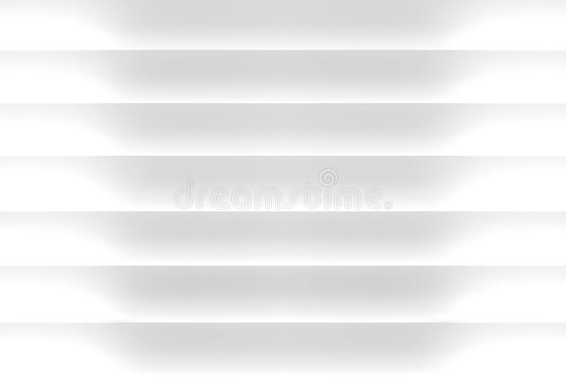 Weiß 3D macht Hintergrund blind stockbild