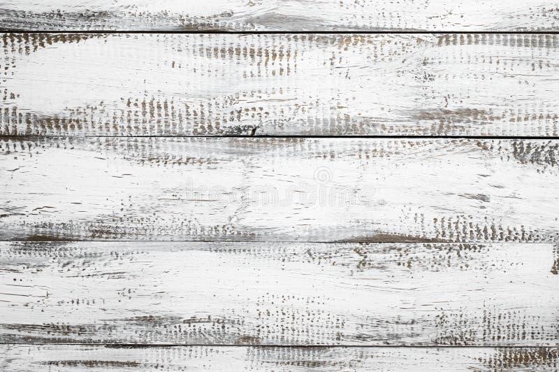 Weiß gemalter hölzerner Hintergrund lizenzfreie stockbilder