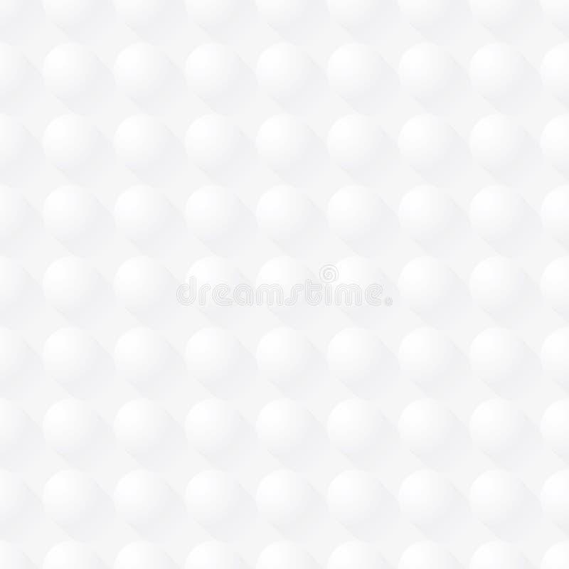 Weiß punktiert nahtlosen Vektorbeschaffenheitshintergrund stock abbildung