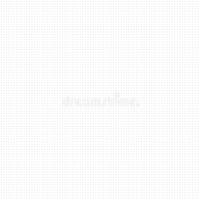 Weiß punktierte Beschaffenheit - nahtloser Vektorhintergrund Tileable Muster des Tupfens lizenzfreie abbildung