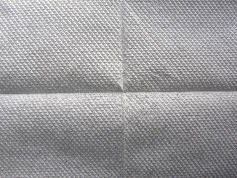 Weiß punktierter Seidenpapierhintergrund stockbild