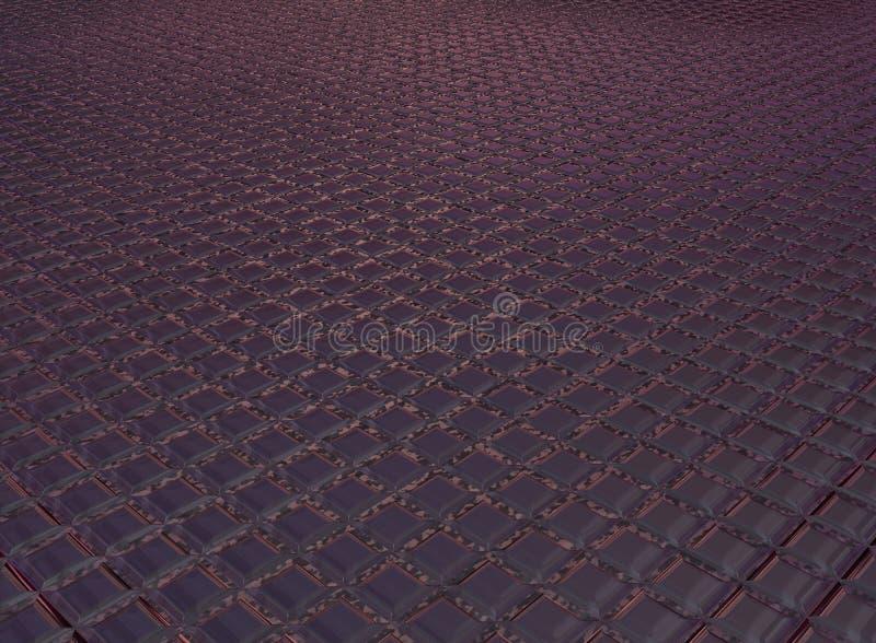 Weiß und Dunkelheit Stücke Schokolade in der Zukunft, 3D zerreißen vektor abbildung