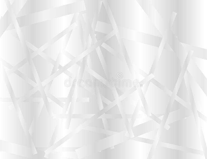 Weiß und Grey Geometric Technology Background für Ihr Design vektor abbildung