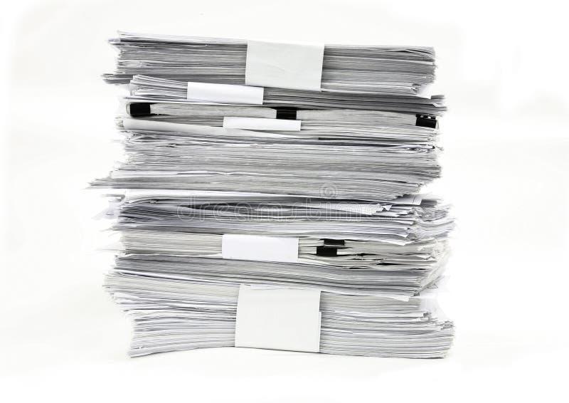 Weißbuch stockbild