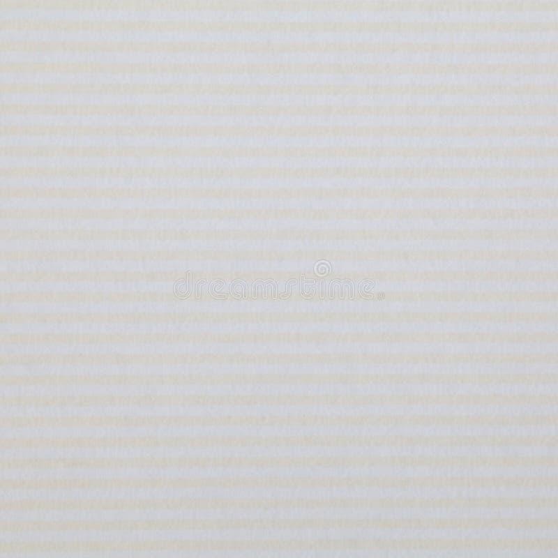 Weißbuch mit Streifen stockfotografie