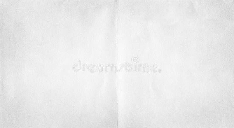 Weißbuchfaltenbeschaffenheit lizenzfreie stockfotografie