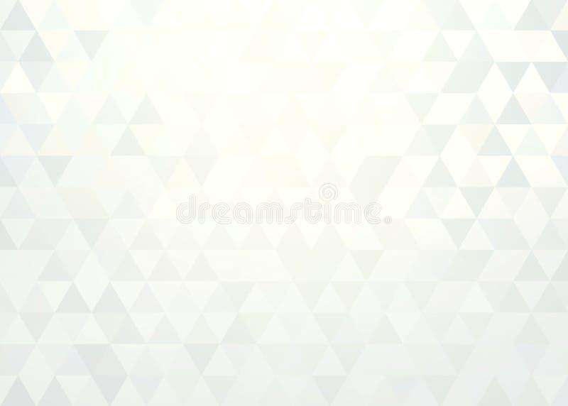 Weiße abstrakte Grafik des Diamanten r vektor abbildung