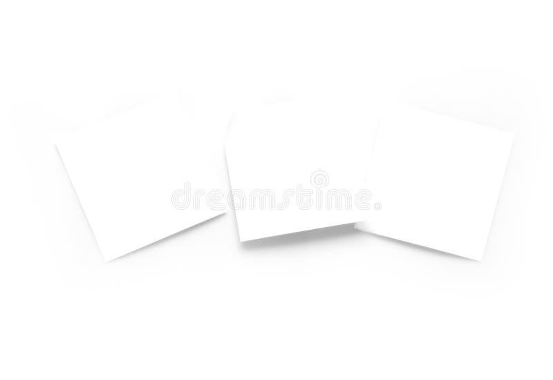 Weiße Anmerkungen für Text. lizenzfreie stockfotos