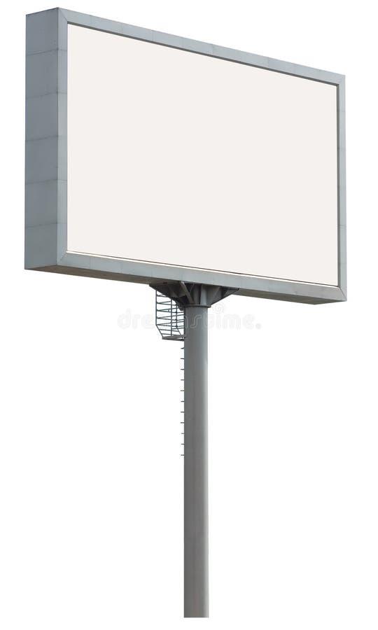 Weiße Anschlagtafel lizenzfreie stockbilder