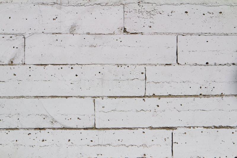 Weiße Backsteinmauerbeschaffenheit verwendet, um Hintergrund passend zu machen für Innenraum und Äußeres lizenzfreie stockfotografie
