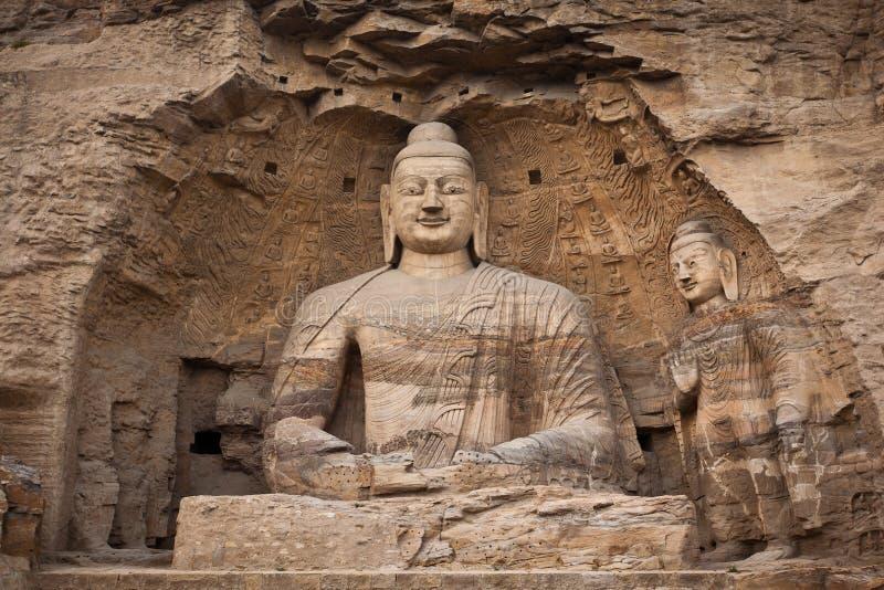 Weiße Buddha-Höhle stockbilder