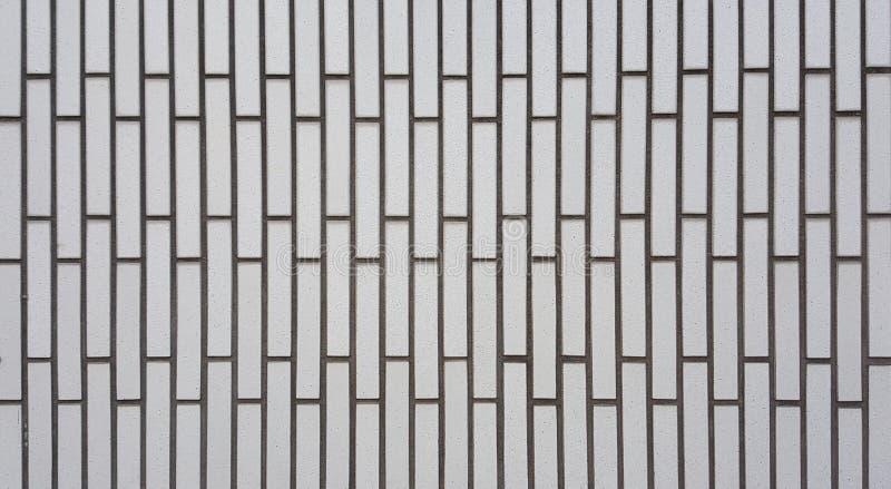 Weiße Farbe der Wandfliesen sind in Form rechteckig lizenzfreies stockfoto