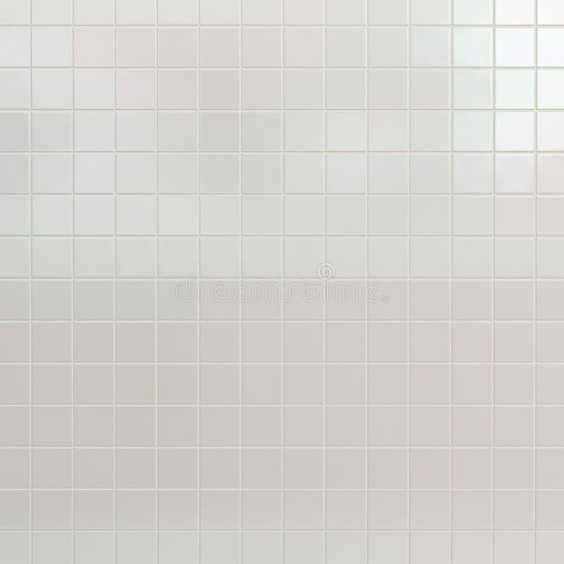 Weiße Fliesenwand lizenzfreie stockfotos