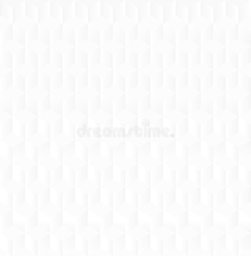 Weiße geometrische Beschaffenheit lizenzfreie abbildung