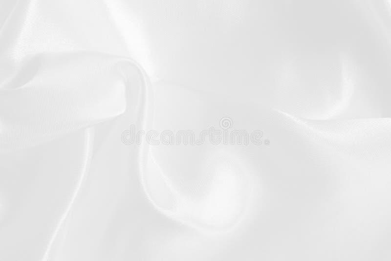 Weiße Gewebebeschaffenheit für Hintergrund und Design, schönes Muster der Seide oder Leinen stockfotos