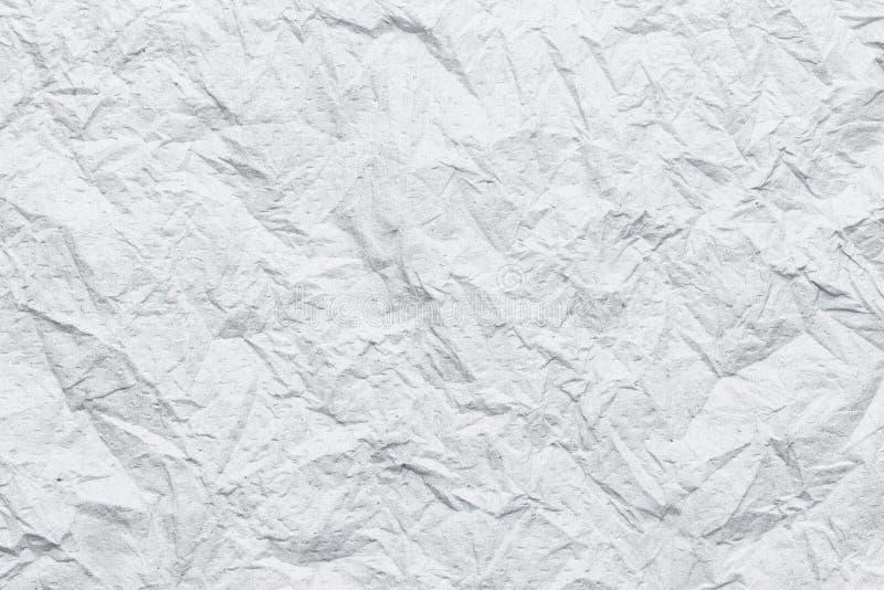 weiße Gewebeoberfläche der Falte oder zerknittert lizenzfreie abbildung