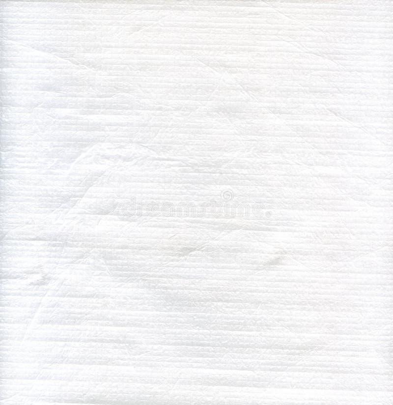 Weiße Gewebetextilbeschaffenheit zum Hintergrund lizenzfreies stockfoto