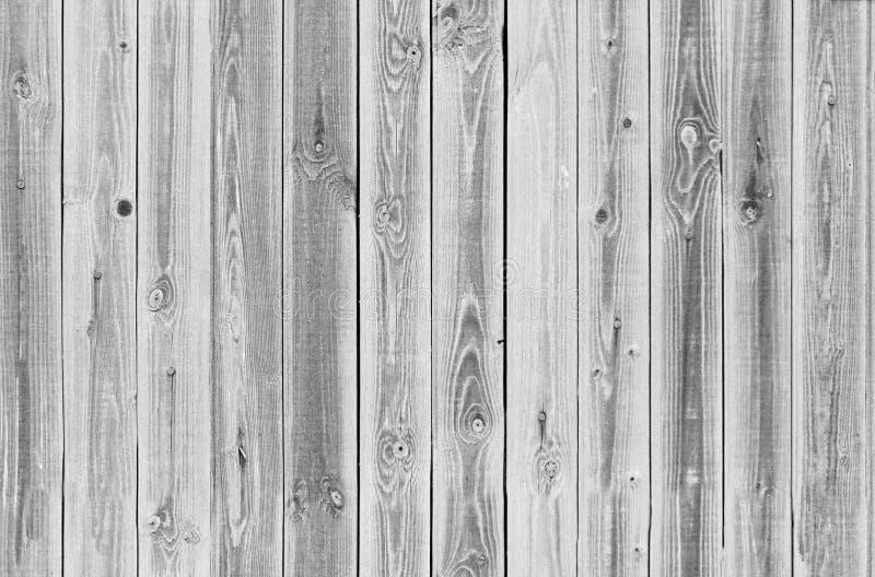 Weiße, graue hölzerne Beschaffenheit nahtloses Muster der alten Platten des Hintergrundes lizenzfreie stockfotos
