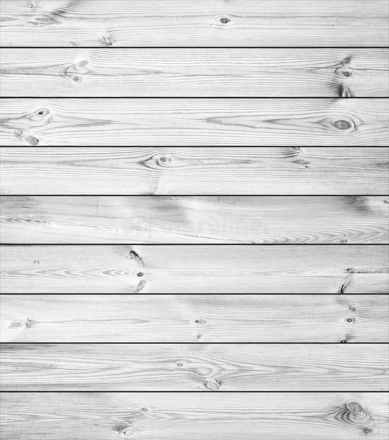 Weiße hölzerne Planken