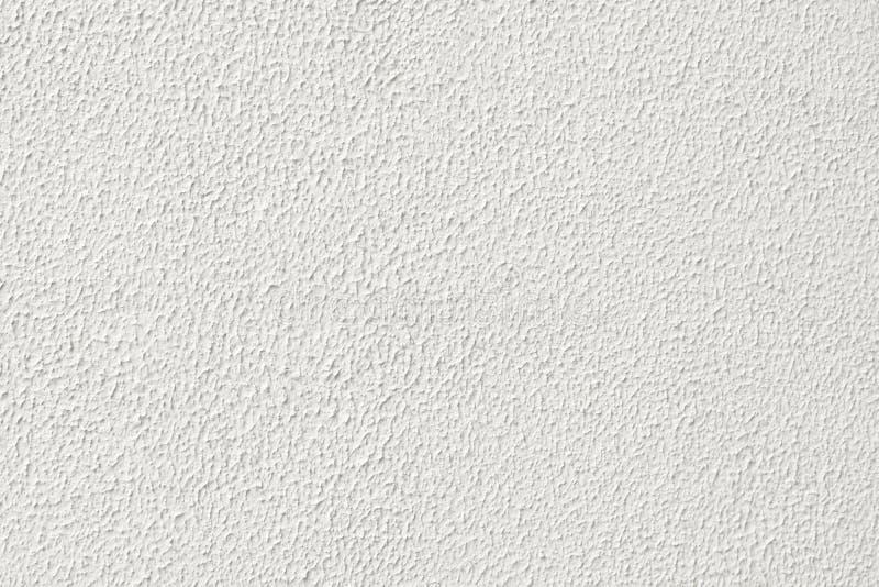 Weiße körnige Gipswandbeschaffenheit lizenzfreies stockfoto