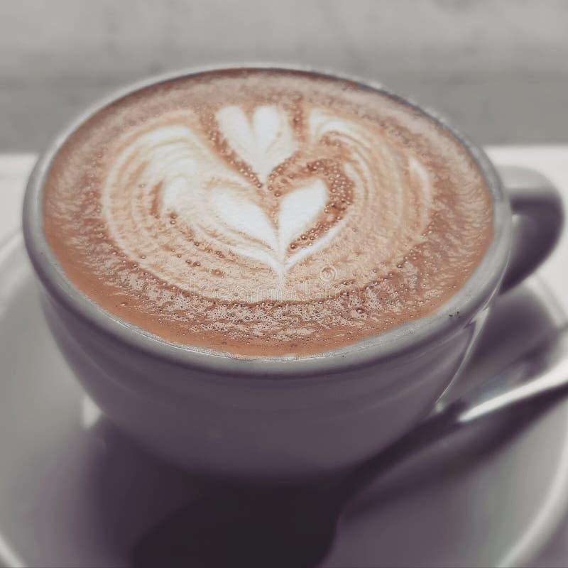 Weiße Kaffeetasse lizenzfreies stockfoto