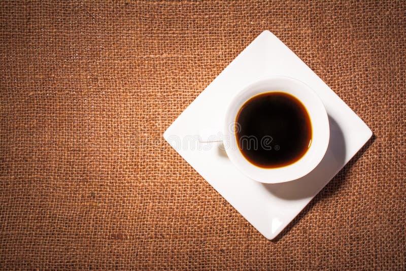 Weiße Kaffeetasse lizenzfreie stockfotografie