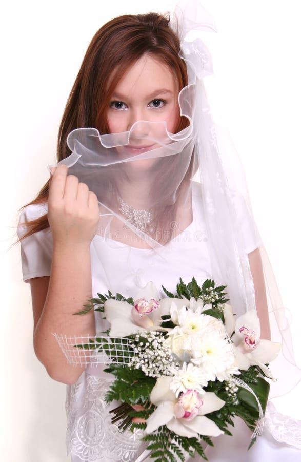 Weiße Kleidung stockbild
