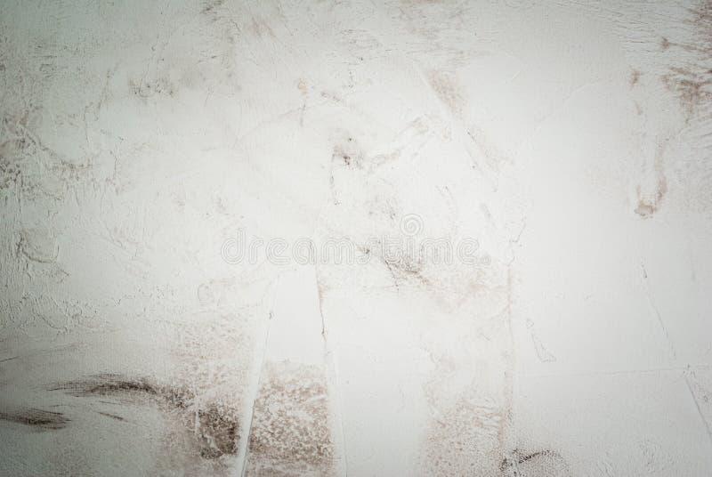 Weiße konkrete Steintabelle stockbilder