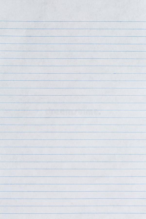 Weiße Linie Papier stockbild. Bild von auslegung, getrennt - 45590011