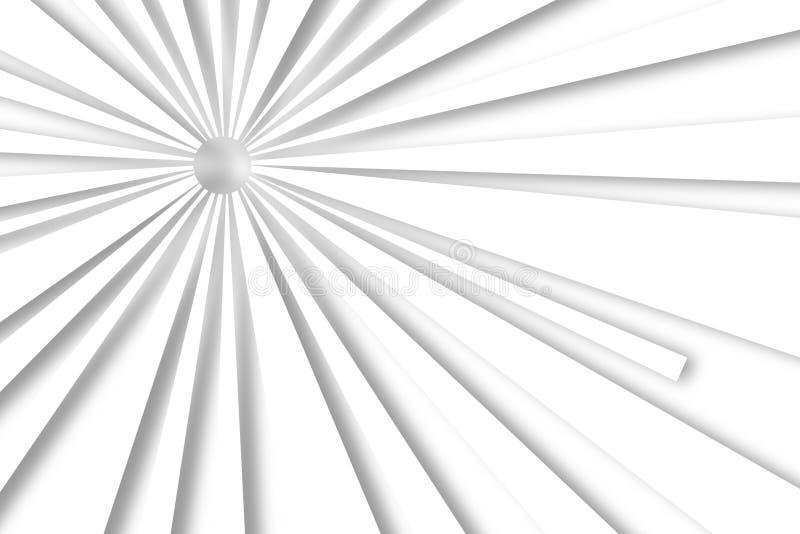 Weiße Linien abstrakter Hintergrund stock abbildung