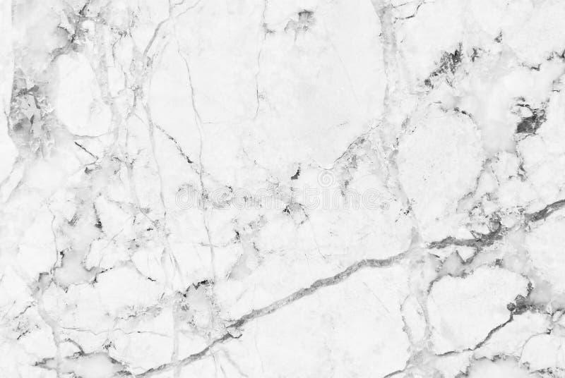 Weiße Marmorbeschaffenheit mit natürlichem Muster für Hintergrund- oder Designkunstwerk stockbild