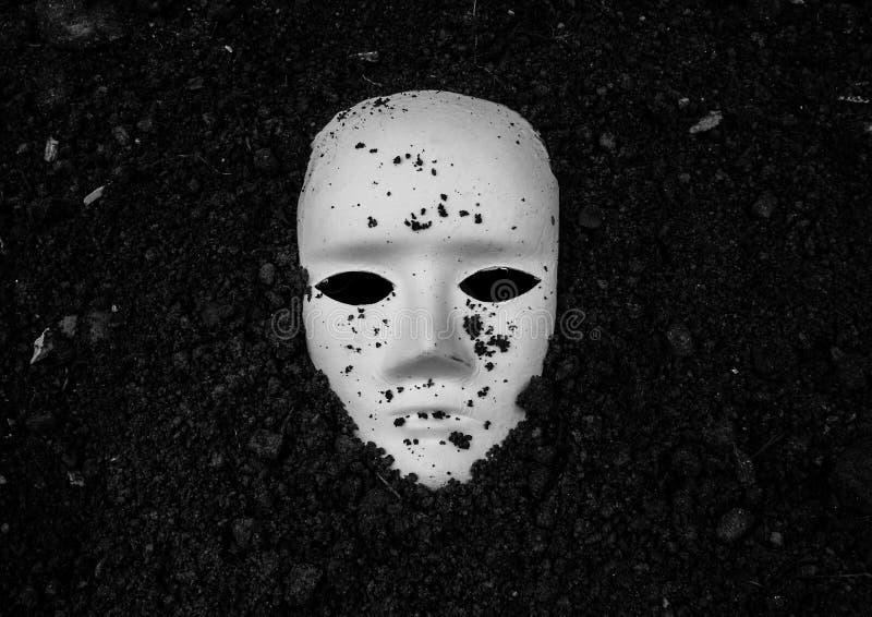 Weiße Maske stockfotografie