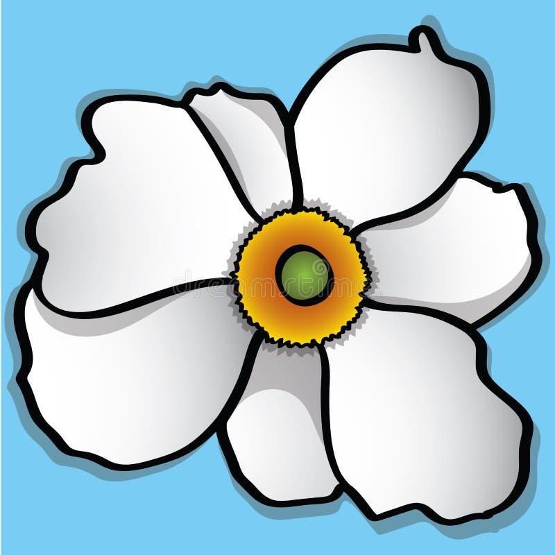 Weiße Narzisse stockfoto